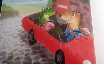 i due amici in macchina