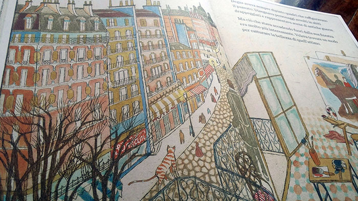 Degas osserv Parigi dalla finestra