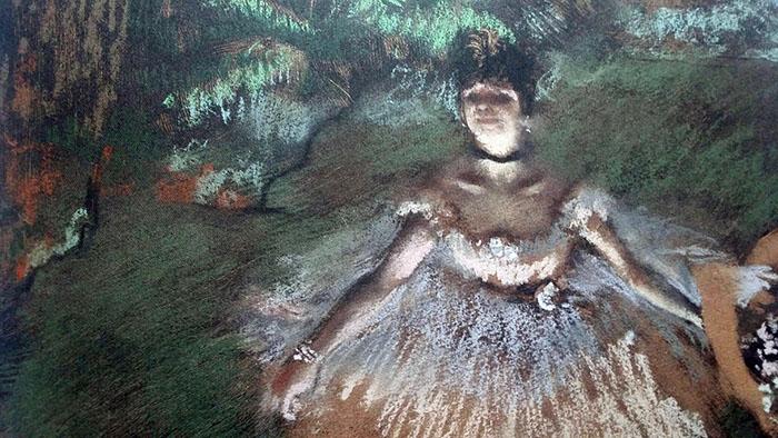 Ai tempi di Degas-riproduzione opera Degas
