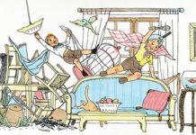 bambini sul letto