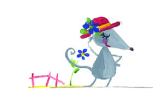 Topolina indossa il suo cappello