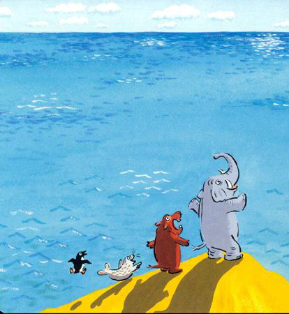 la vista del mare