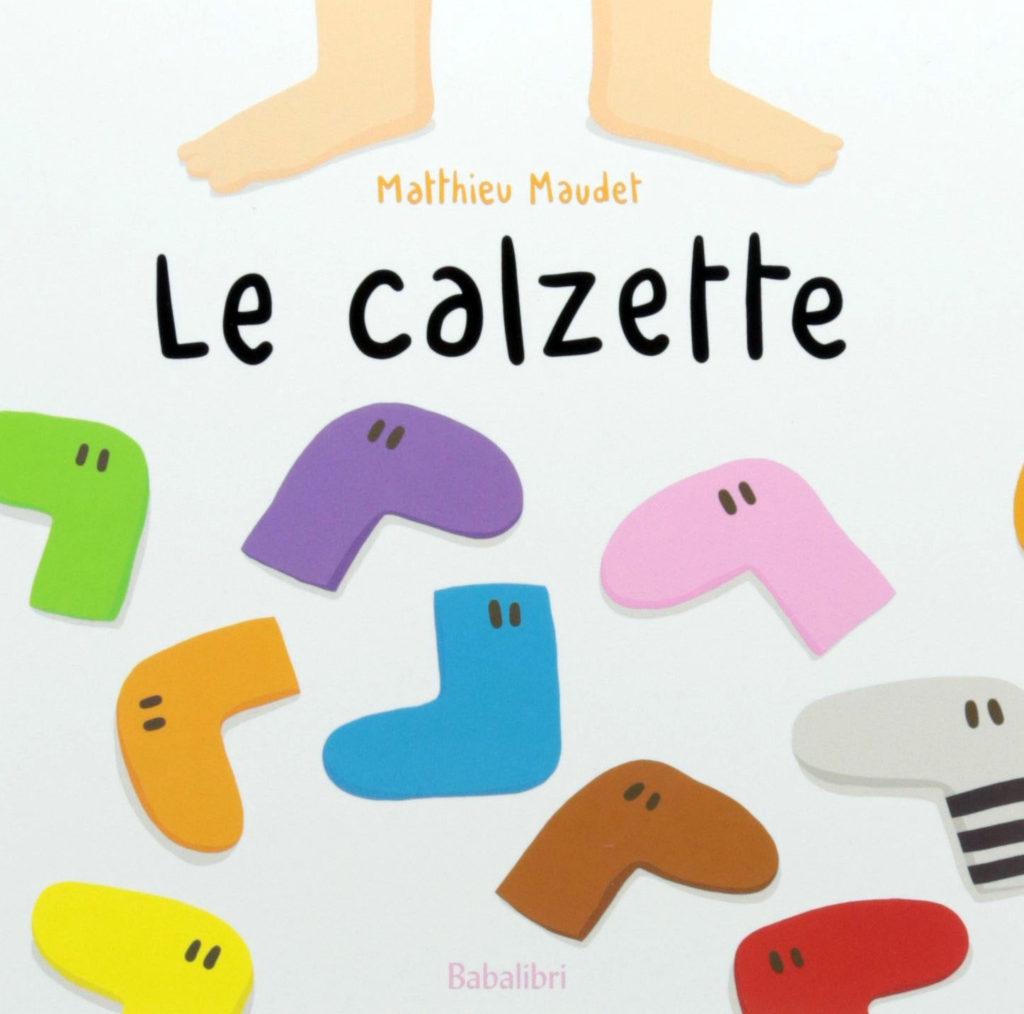 """copertina del libro """"Le calzette"""""""