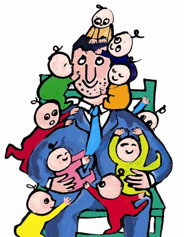 il papa e i suoi dieci bambini_2