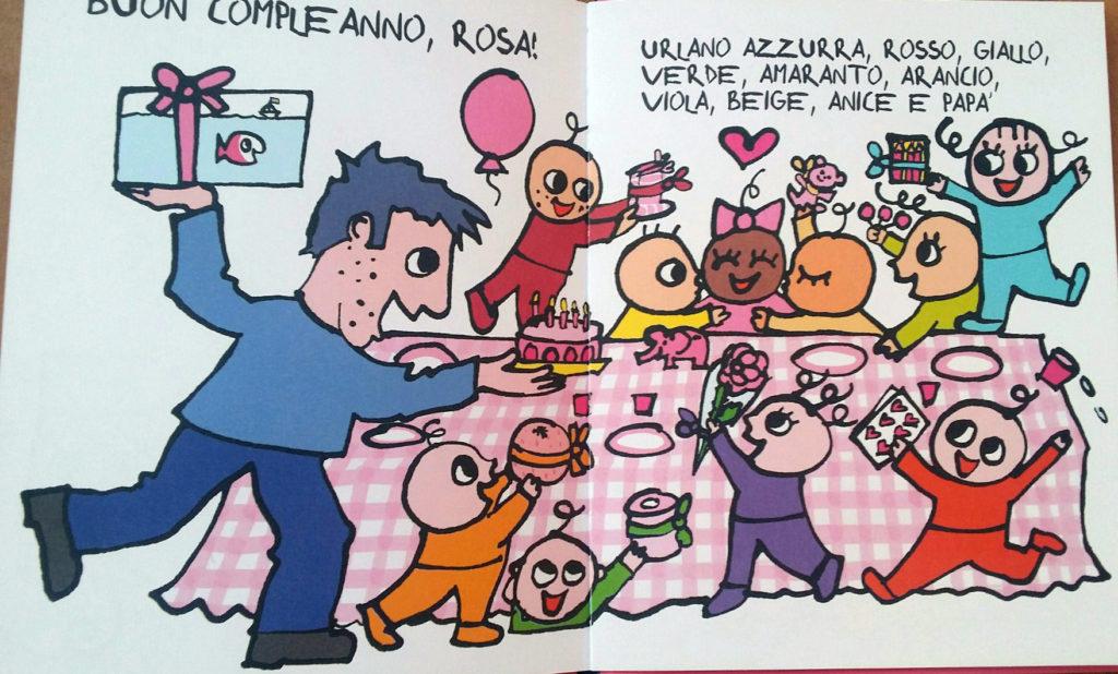 il regalo di compleanno per Rosa