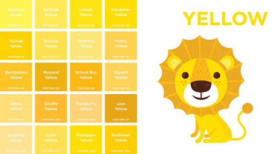 PantoneColors-yellow