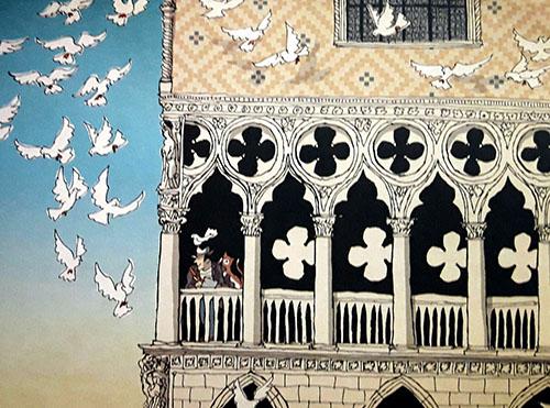 i piccioni di Venezia