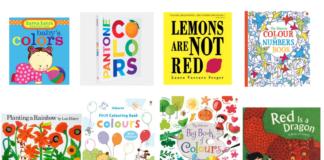 libri sui colori in inglese