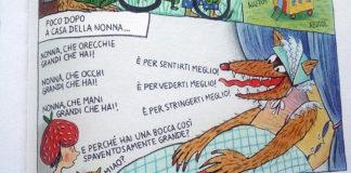 Cappuccetto Rosso tratto da Fiabe a fumetti