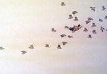 Jakob vola insieme agli uccelli