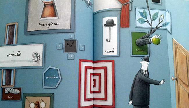La Mela di Magritte interno