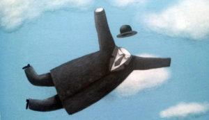 La mela di Magritte - interno