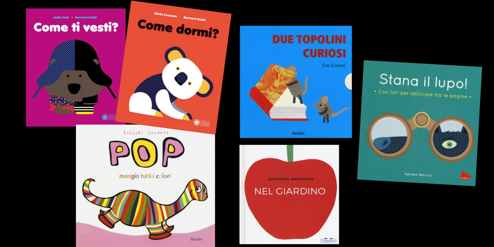Cinque bei libri per bambini piccoli