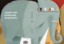 """copertina del libro """"L'elefante"""""""