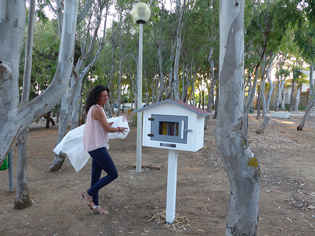Little Free Library Paola Bisconti 1