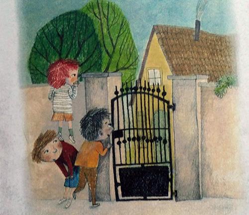 illustrazione del libro Nonno mi racconti una storia