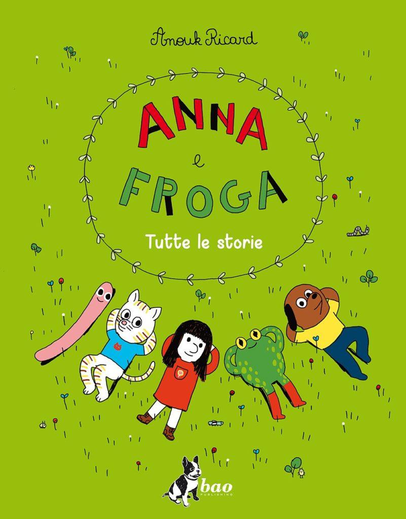 copertina di Anna e Froga