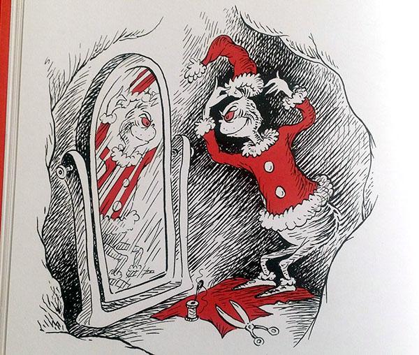 Il Grinch si traveste da Babbo Natale