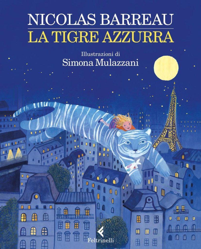 copertina del libro La tigre azzurra