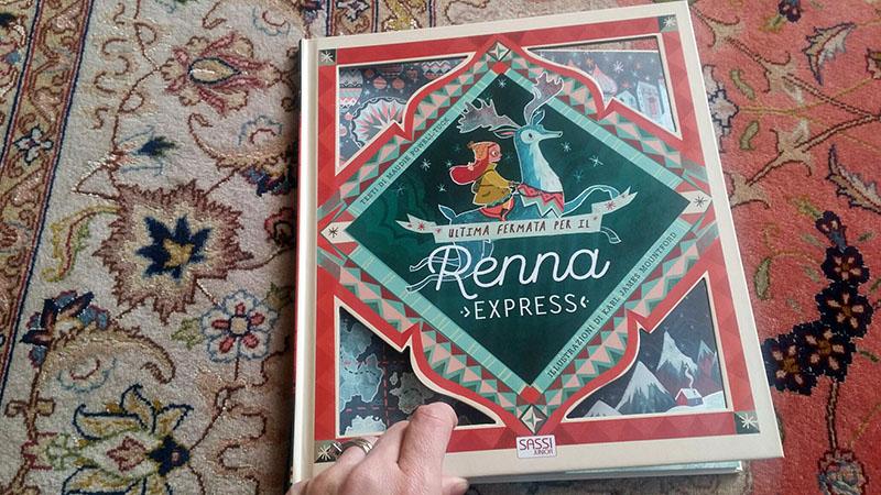 copertina di Ultima Fermata per il Renna Express