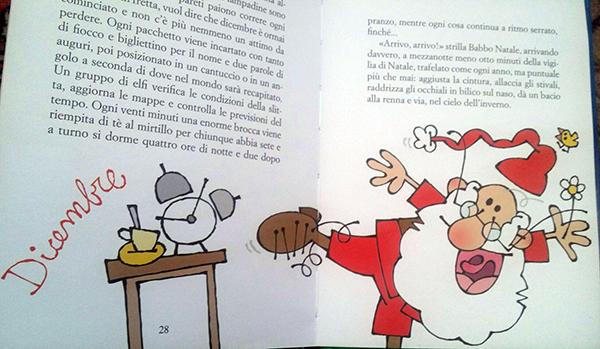 Babbo Natale corre