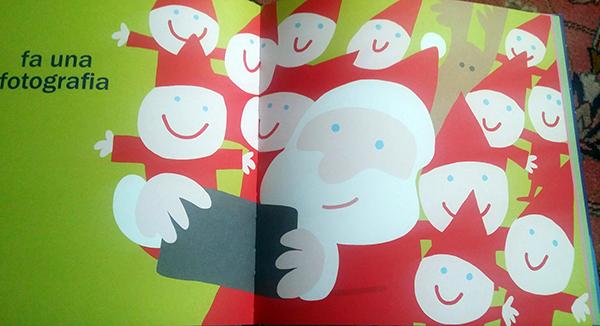una foto con Babbo Natale