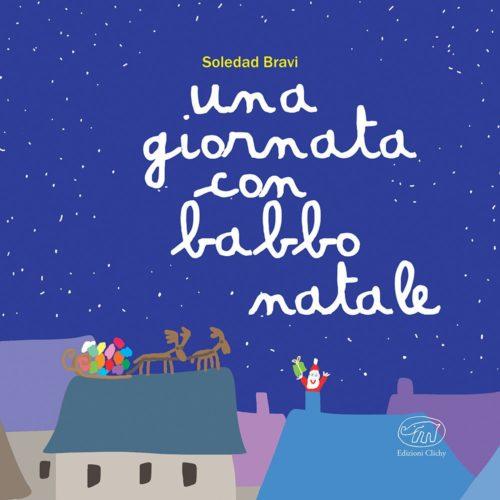 copertina di Una giornata con Babbo Natale