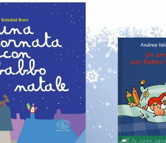 due libri su babbo natale