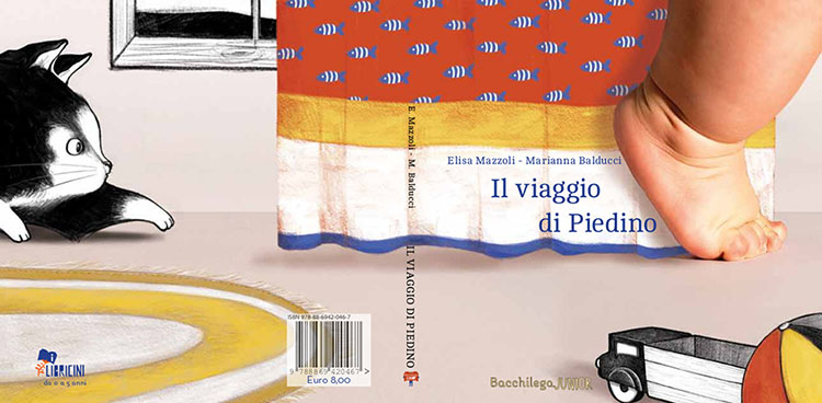 copertina de Il viaggio di Piedino