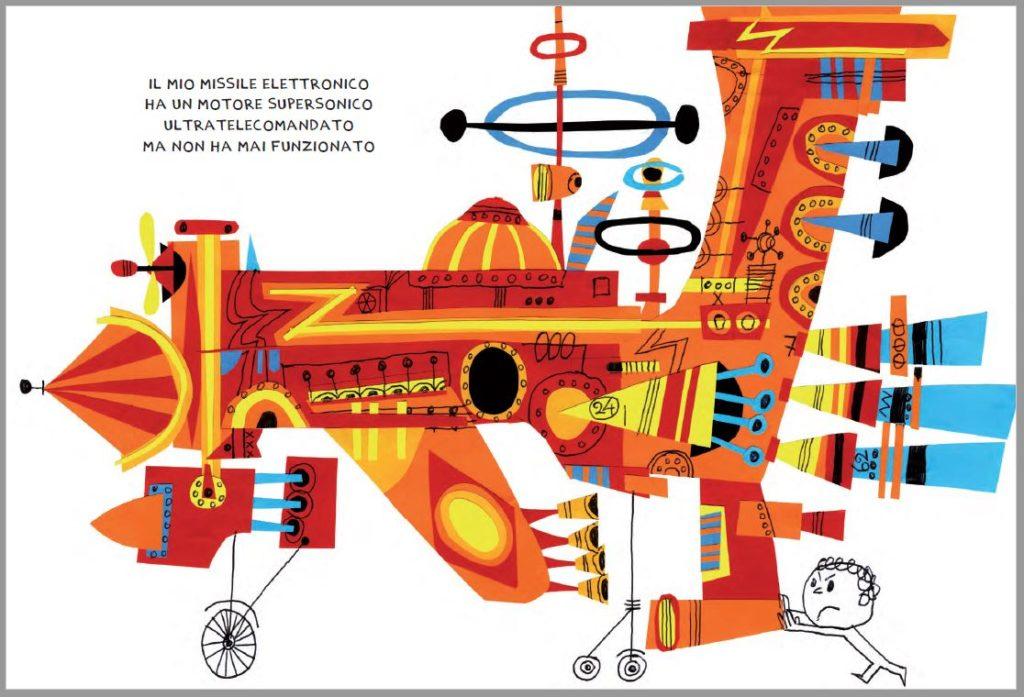 missile elettronico di Gek Tessaro