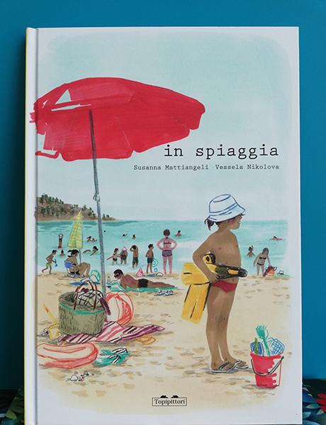 copertina de In spiaggia