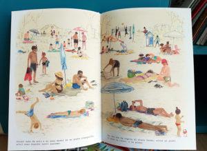 In spiaggia, pagine interne