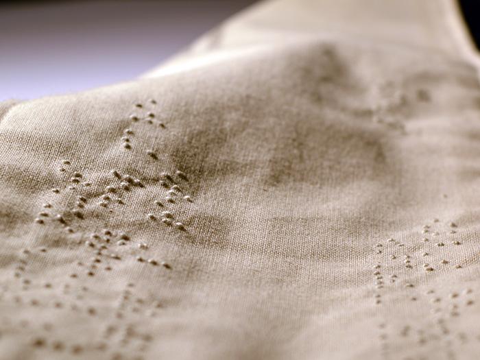 Nodi particolare braille