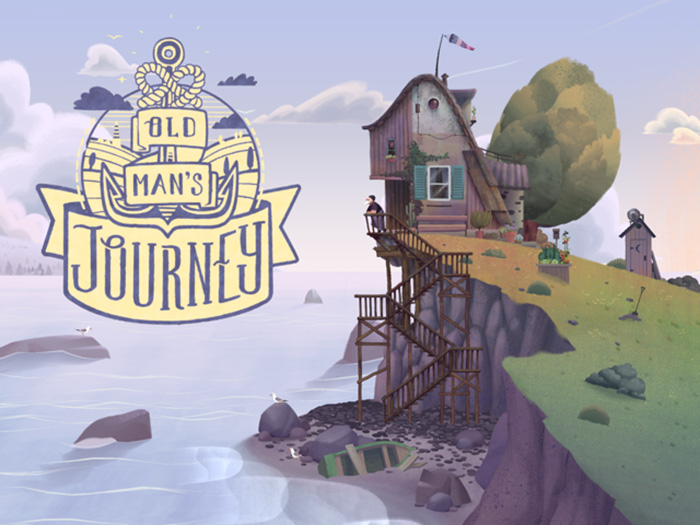 Old mans journey cover