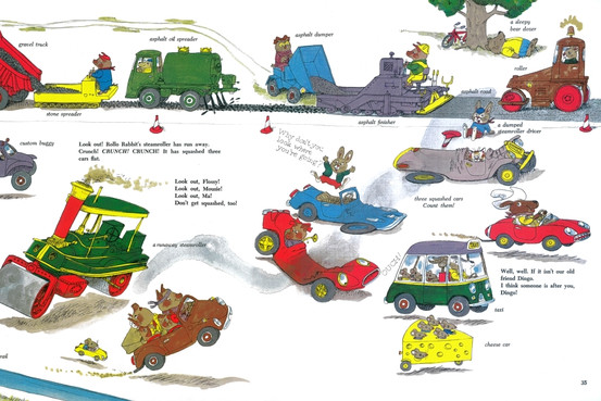 Richard Scarry-Cars-interno