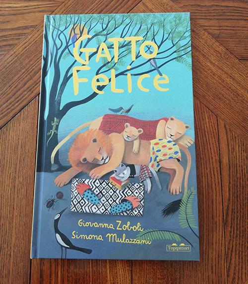 copertina di Gatto Felice