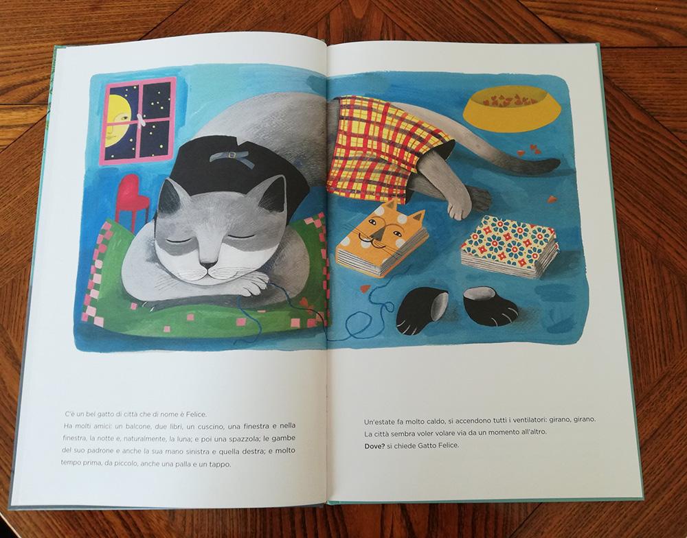 pagine di Gatto Felice