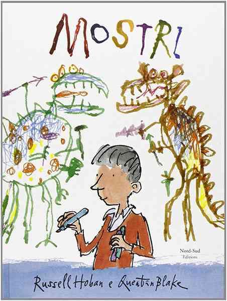 Copertina del libro Mostri