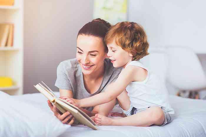 l'età di lettura nei libri per bambini