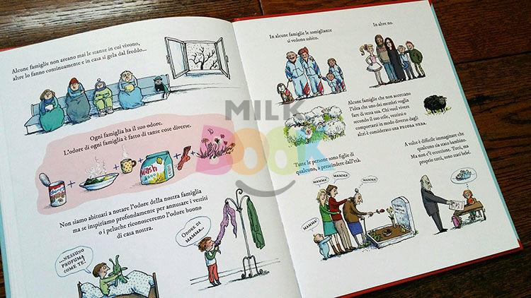 pagine del libro In famiglia