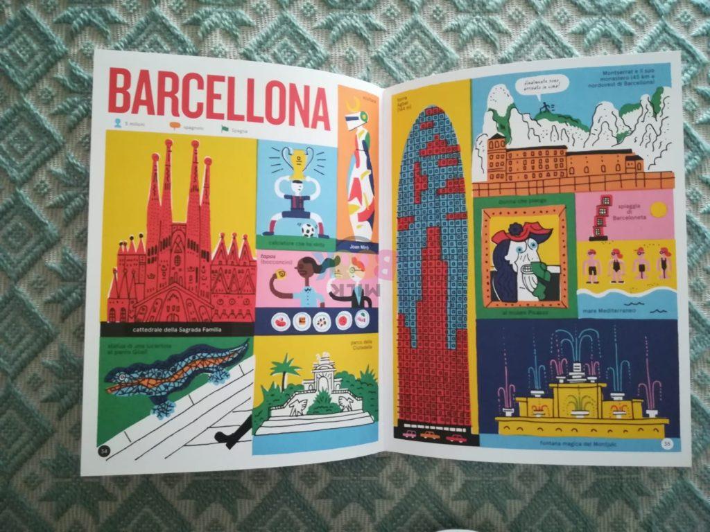 Barcellona nel libro Metropolis