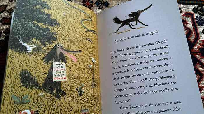 pagine interne del libro Cane puzzone