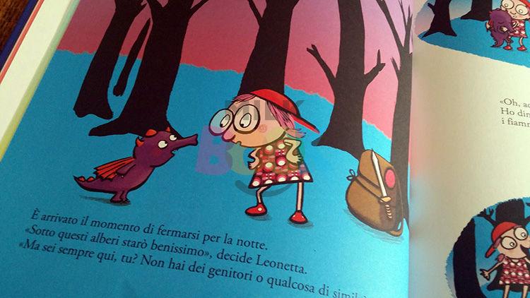 Leonetta incontra il draghetto