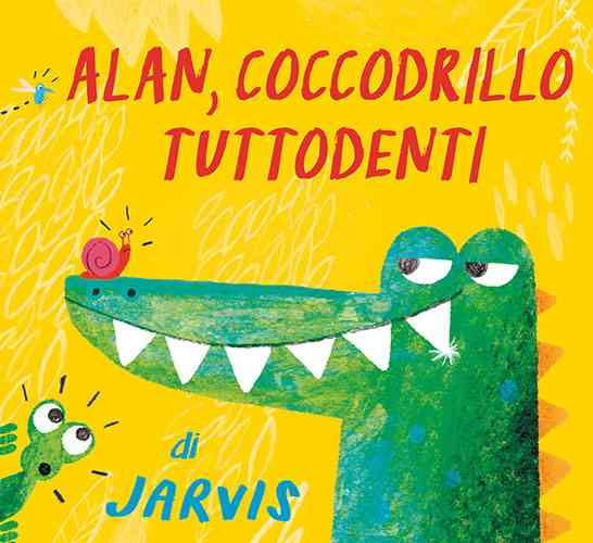 Alan, coccodrillo tutto denti