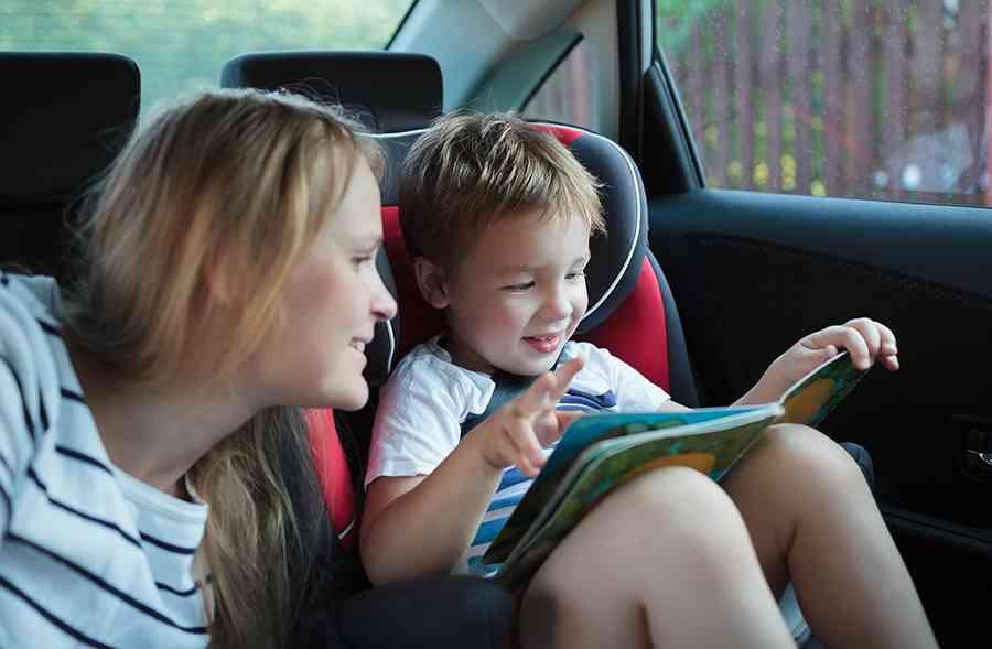 leggere in macchina