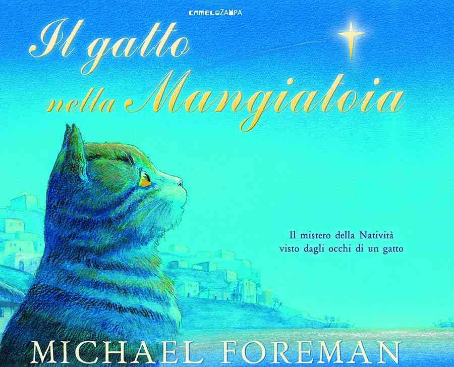 copertina del libro Il gatto nella mangiatoia di Michael Foreman