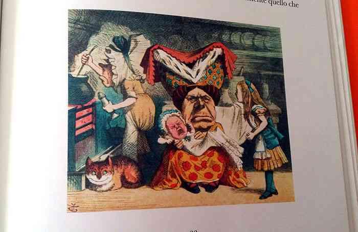 immagine tratta da La mia prima Alice di Louis Carroll