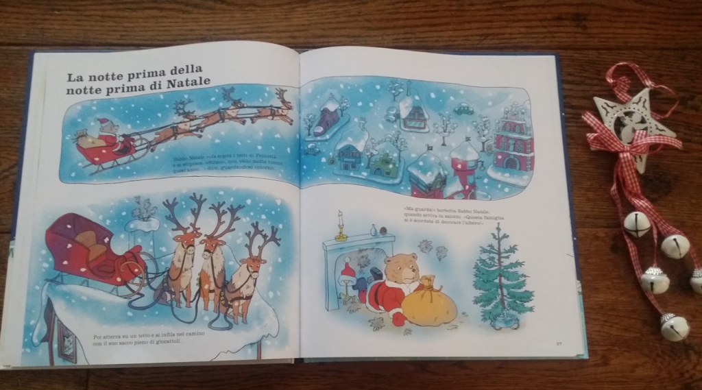 interni del libro di Richard Scarry
