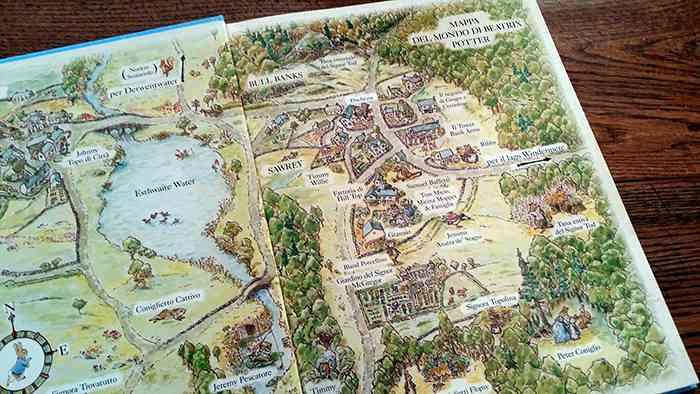 La mappa del mondo di Beatrix Potter