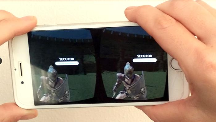 cellulare realtà virtuale